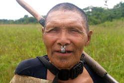 Photo of Murunahua man